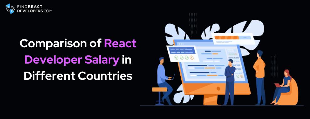 react developer salary