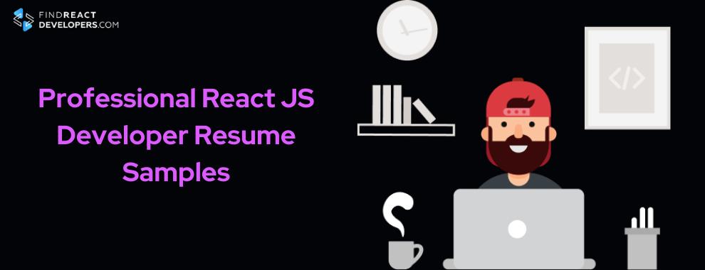 react js developer resume examples