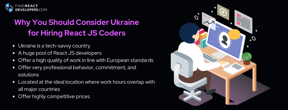 why you should start looking for react developer remote in ukraine